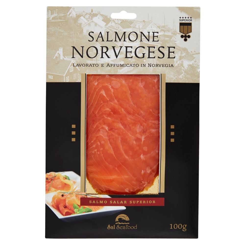 Sal Sea Food salmone norvegese superior