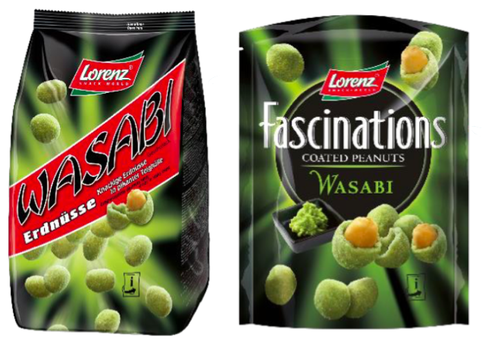 arachidi wasabi fascinations lorenz