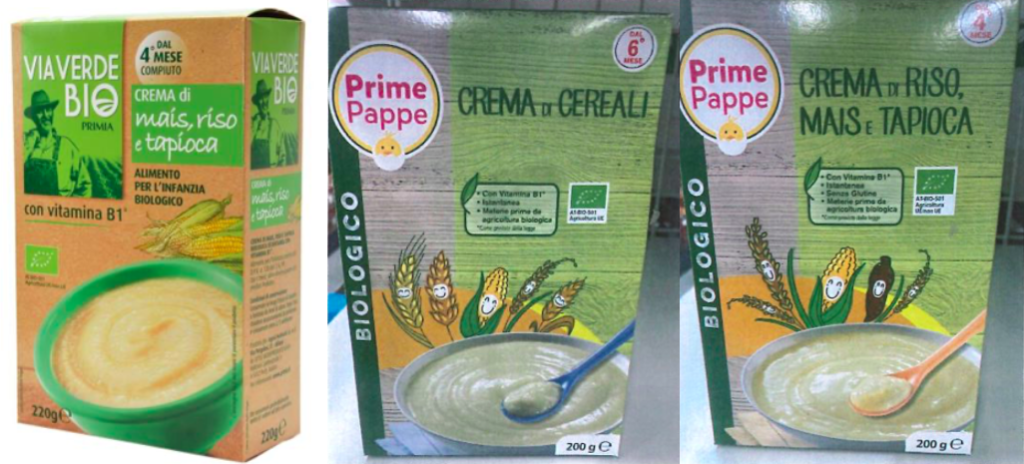 crema cereali riso mais tapioca via verde bio prime pappe eurospin