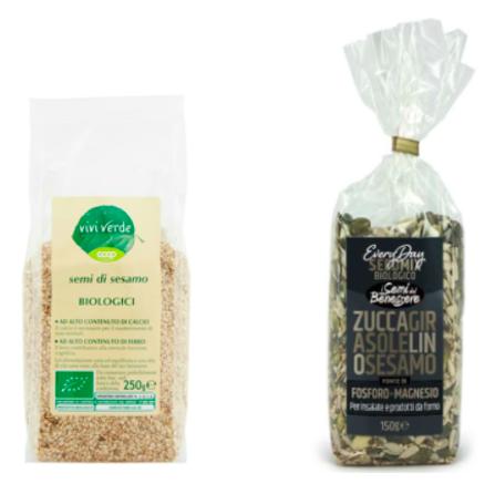 semi di sesamo viviverde bio coop everyday seed mix