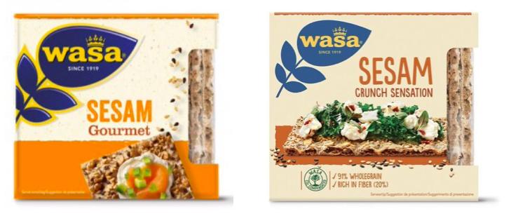 wasa sesam gourmet sesam crunch sensation