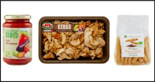 kebab pollo aia sugo verdure carrefour bio mini grissini il viaggiator goloso