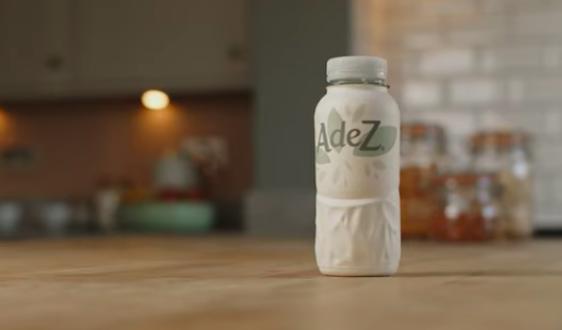 Coca-Cola Adez bottiglia carta