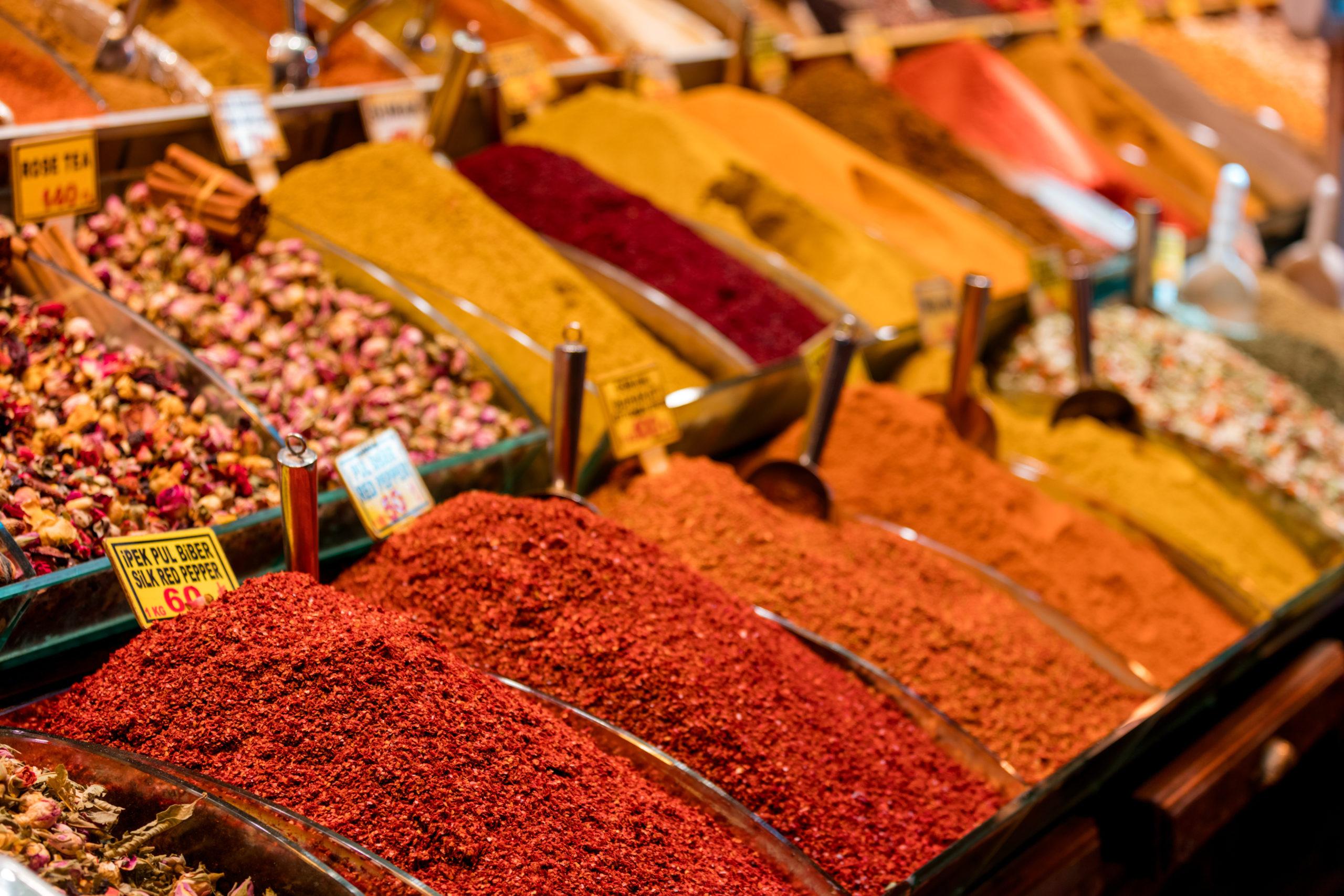 clima, mercato delle spezie in Medio Oriente