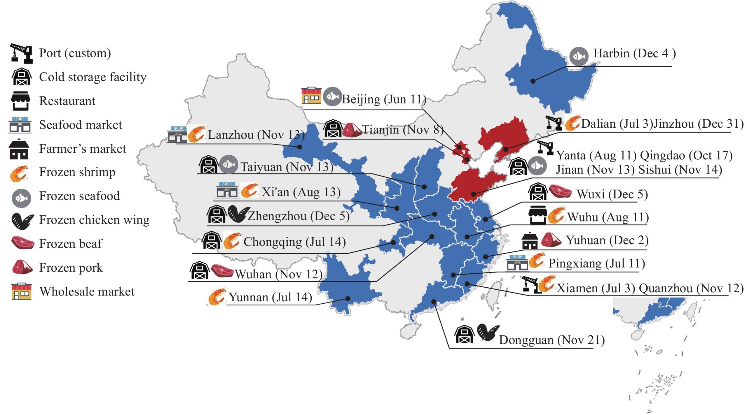 Cartina Cina Con Province.Surgelati E Covid 19 Cosa C E Da Sapere Sulla Teoria Della Cina