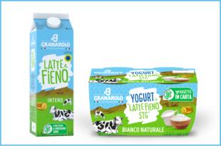 granarolo latte fieno yogurt