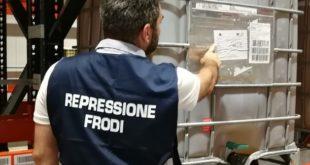ispettore repressione frodi indica etichetta su contenitore