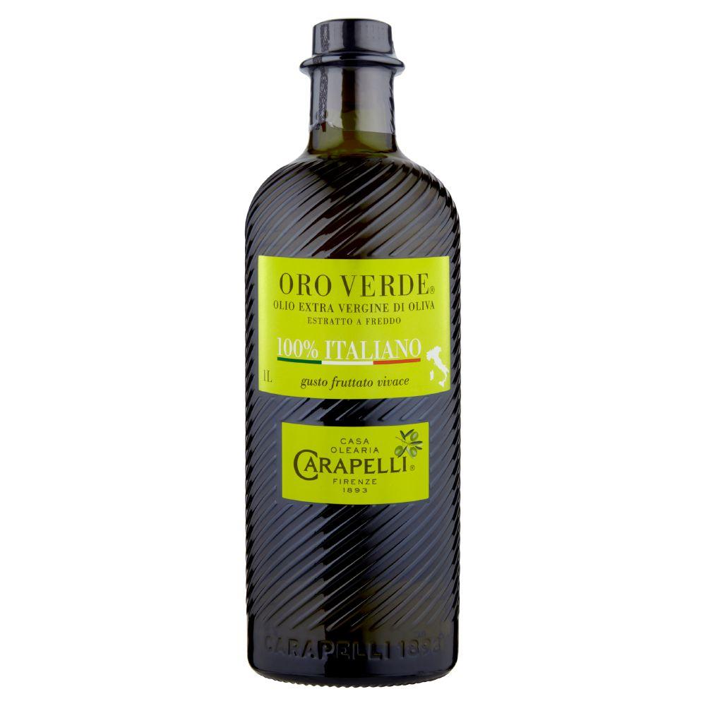 olio extravergine carapelli oro verde 100% italiano