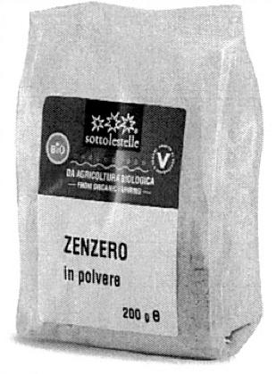 zenzero in polvere biologico Sottolestelle busta