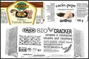 condimenti salsa tartufo cacio pepe cracker