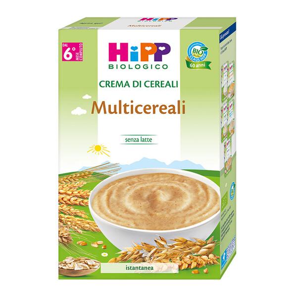 crema di cereali multicereali hipp