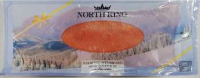 salmone norvegese affumicato north king