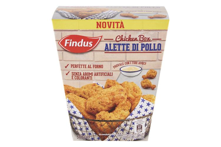 alette di pollo findus