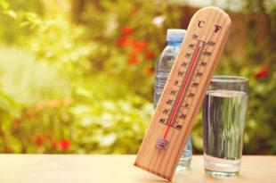 ondate di calore caldo estate acqua idratazione