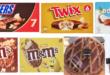 gelati mars snickers twix bounty m&m's crostata coppa di testa