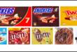 mars gelati snickers twix bounty m&m's crostata coppa