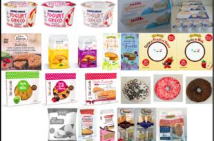 richiamo yogurt torte merendine donut cracker biscotti