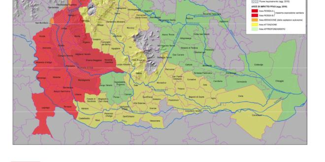 Contaminazione da Pfas in Veneto: resi noti i dati relativi agli alimenti