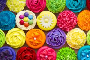 cupcake coloranti additivi