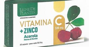 integratore vitamina c zinco acerola bambù ligne de plantes