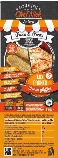 preparato per pizza ossido di etilene