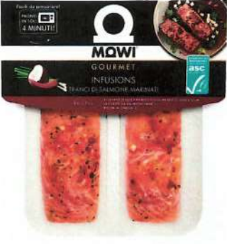 tranci di salmone red thai infusions mowi gourmet